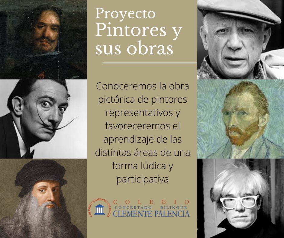 PROYECTO PINTORES Y SUS OBRAS